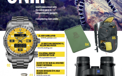 Safari Gadgets (National Geographic Traveller 2015)