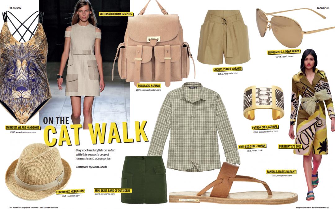 Safari Fashion (National Geographic Traveller UK 2015)