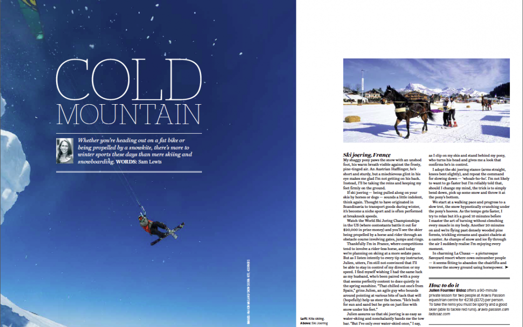 Snow sports (National Geographic Traveller UK) November 2015