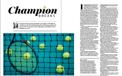 Sporting Breaks (National Geographic Traveller UK) December 2015